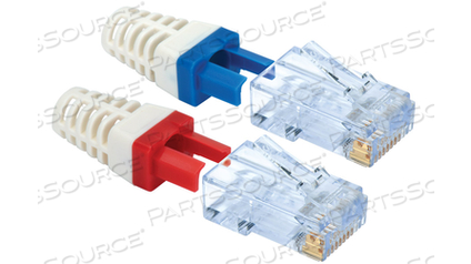 Liberty Wire & Cable 100 011LW CATEGORY 6 EZ-RJ45 PLUGS IN A 30-PACK ...